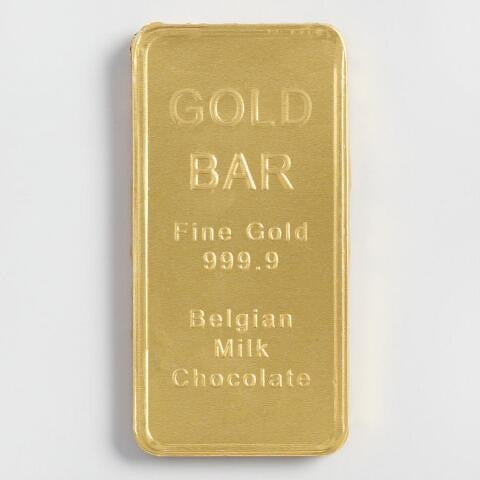 Fort Knox Chocolate Gold Bar