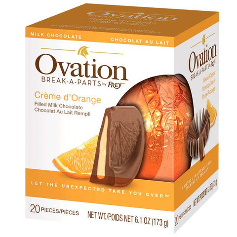 Ovation Milk Chocolate Creme d'Orange Break Apart