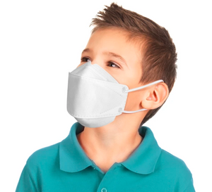 4-Ply Filters KF94 Mask with Safety Certificate, Kids Size (12pcs)