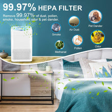 Load image into Gallery viewer, AIRCHOICE True HEPA 3-in-1 Air Purifier Removing 99.97% Particles, Multiple Modes