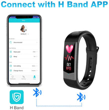 Load image into Gallery viewer, BOZLUN Heart Rate Monitor - Fitness Tracker, Calories Counter, Step Counter