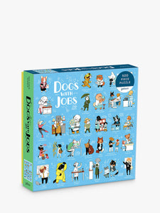 500 piece jigsaw of dogs with jobs