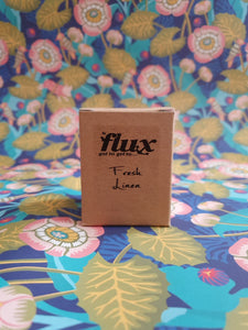 Flux glass candle brown box