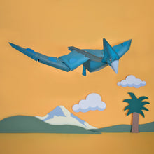 Load image into Gallery viewer, Dinosaur flying in sky