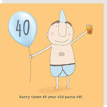 Load image into Gallery viewer, birthday card age 40 male