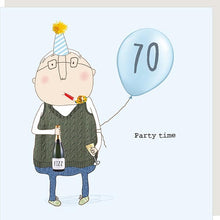 Load image into Gallery viewer, birthday card age 70 male