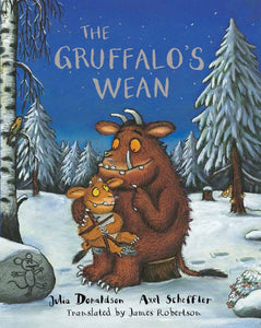 Scottish take on the wonderful story of Gruffalo child by Julia Donaldson.