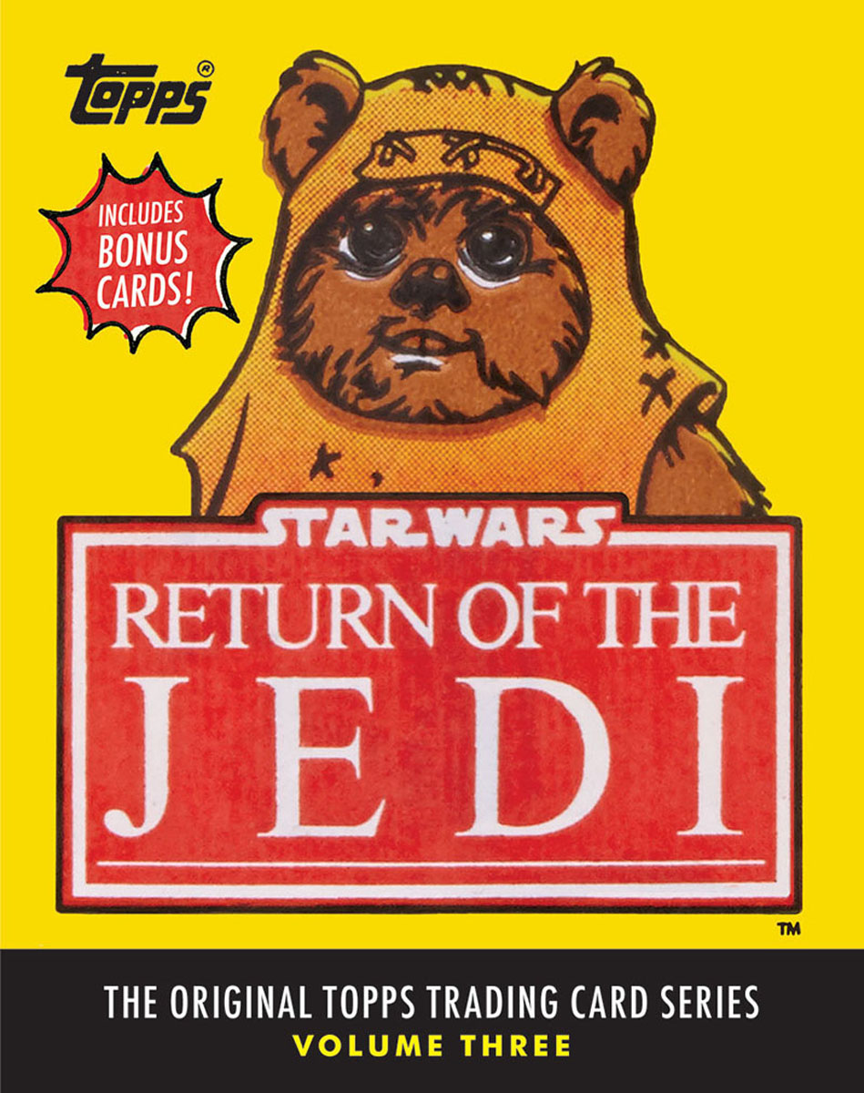 Return of the Jedi, the final installment of George Lucas's original Star Wars trilogy. Now, for the first time, all 220 cards and 55 stickers are reprinted in one deluxe volume