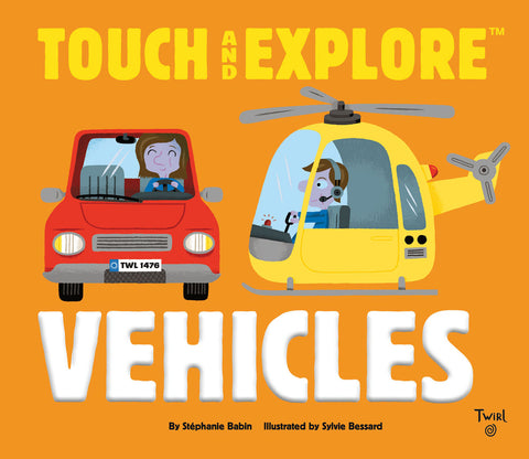 multisensory series created to encourage hands-on play and learning. Children will enjoy vehicle fun and facts at the tip of their fingers!