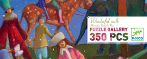 350 Pieces jigsaw a wonderful walk
