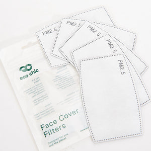 Eco Chic Mask Filter 5pk