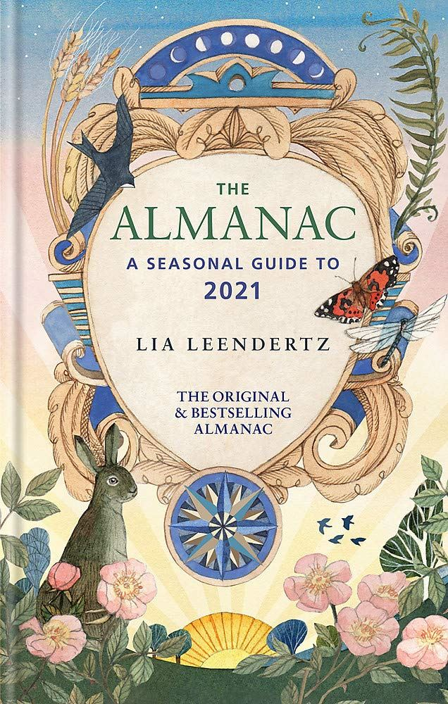almanac seasonal guide to moon phases, tides etc..