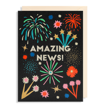 Load image into Gallery viewer, amazing news fireworks card