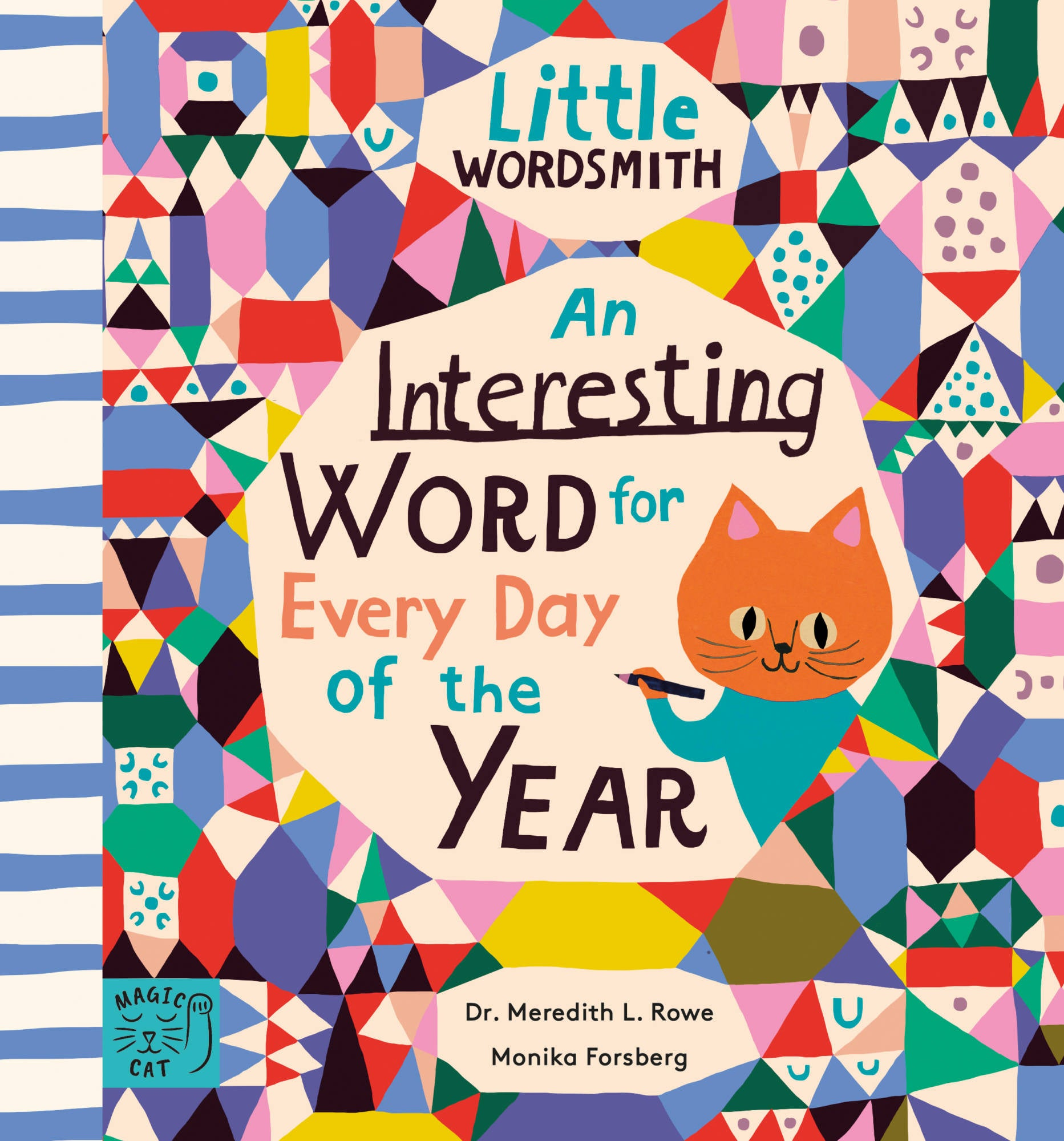 a beautiful childrens book with an interesting word to learn for every day of the year