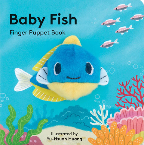 small puppet book featuring an adorable baby fish
