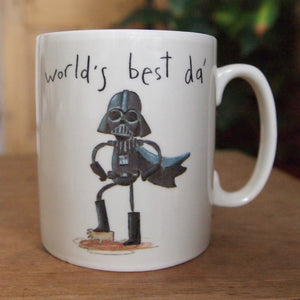 star wars best da mug