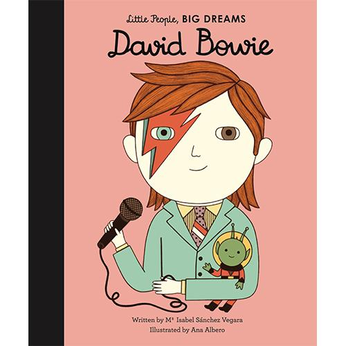 inspiring book for children about David Bowie