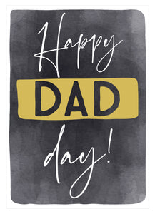 Father's Day card happy dad day