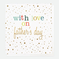 Father's Day card with love