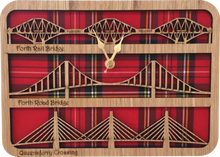 Load image into Gallery viewer, Forth Road Bridge Clock LC07