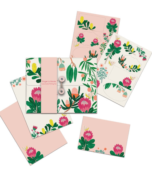 King Protea letter set
