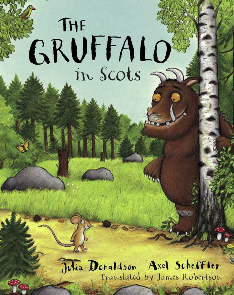 a twist on the Gruffalo book...in Scots