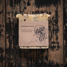 Load image into Gallery viewer, Handmade soap wigth cardboard ink jellyfish