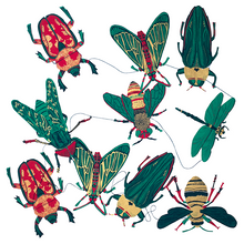 Load image into Gallery viewer, Paper Garland Insect