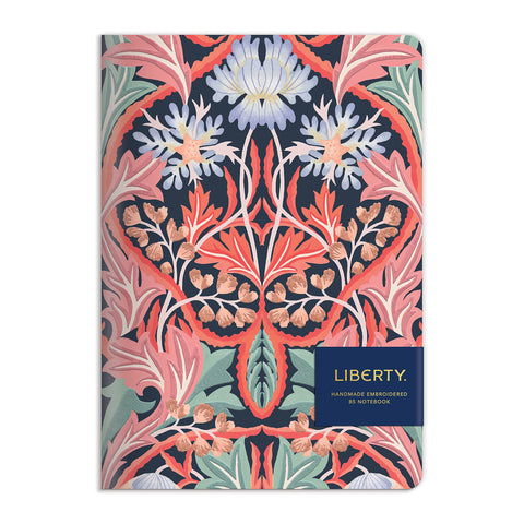 100 page embroidered journal liberty May