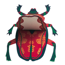 Load image into Gallery viewer, East End Press Scarab Beetle