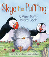 A delightful children's book about a baby puffin.