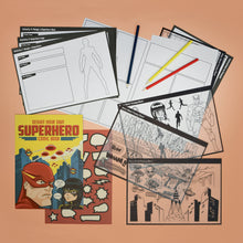 Load image into Gallery viewer, design your own superhero comic