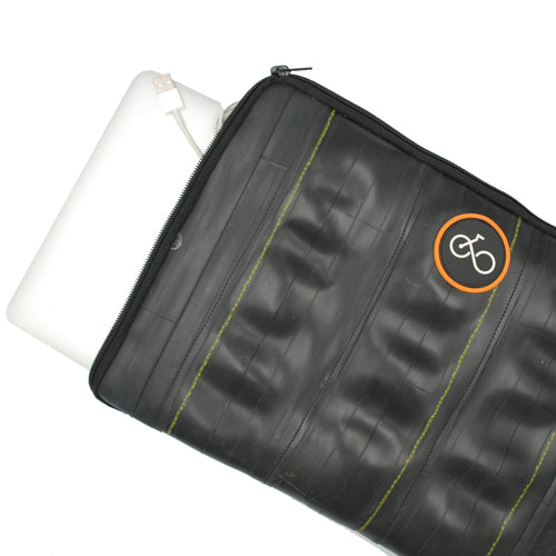 recycled inner tube small tablet case, 21cm x 26cm