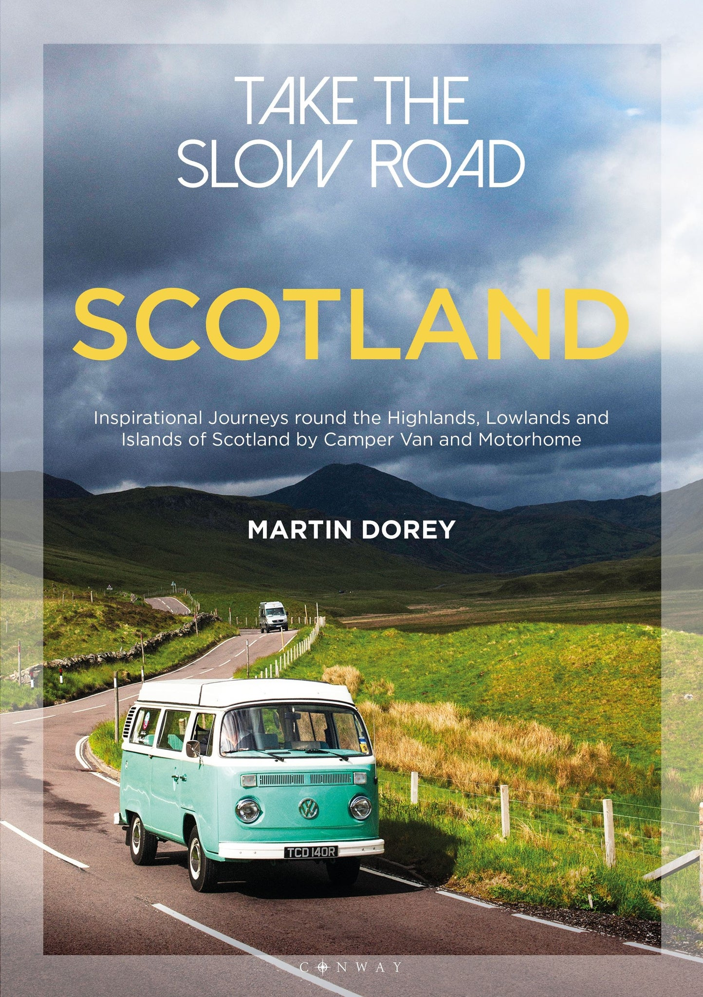 a beautifully illustrated guide to exploring scotland by tourer