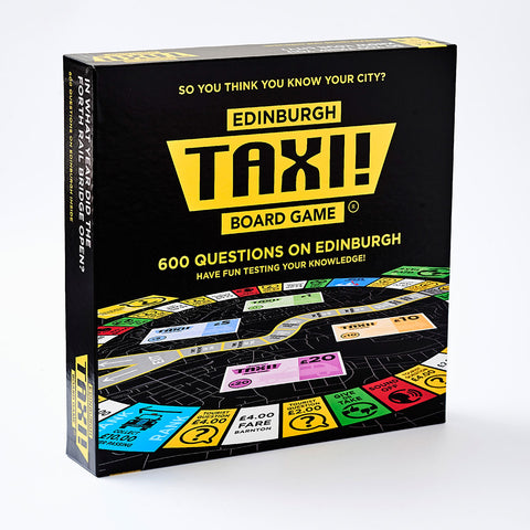 A Board game with 600 questions on Edinburgh general knowledge.