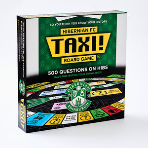 A board game with 500 questions on Hibs football club.