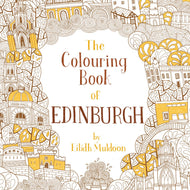 a colouring book detailing Edinburgh for little and big children!