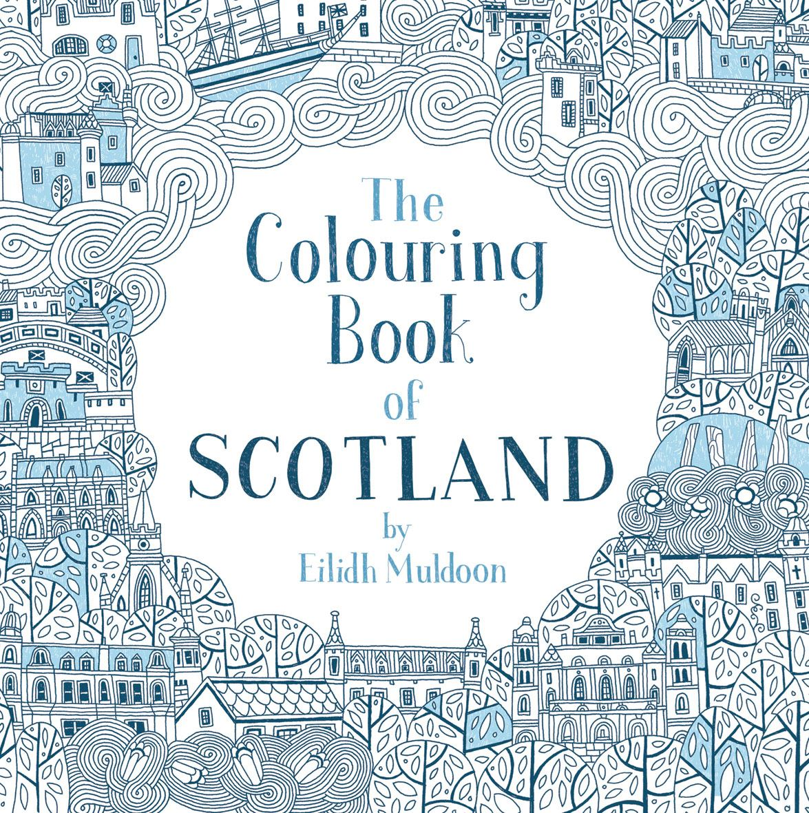 a colouring book detailing Scotland for little and big children!