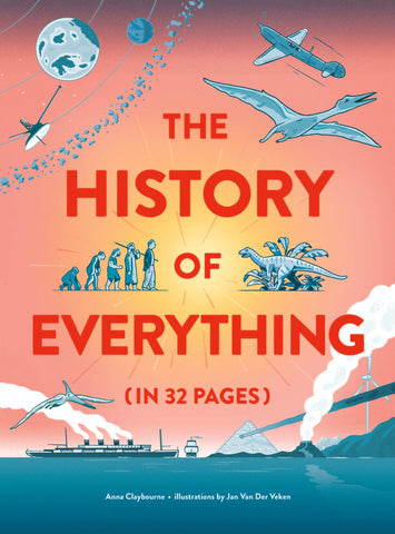 Fourteen exciting double-page spreads draw you into a world of discovery. Each fascinating scene depicts a key development in life on earth, with colourful and engaging illustrations and packed with interesting facts and figures.