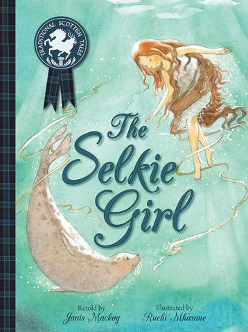 A lovely retelling of the traditional Scottish folk tale of the selkie, a seal who can become human.