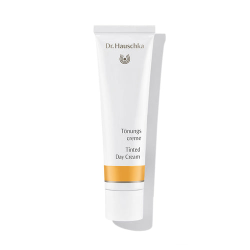 Tinted day cream tube