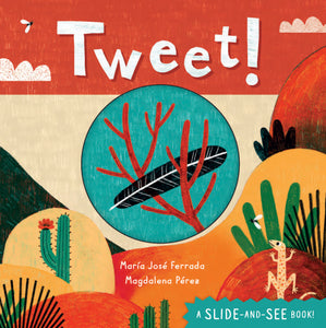 This interactive board book features riddles about different birds.