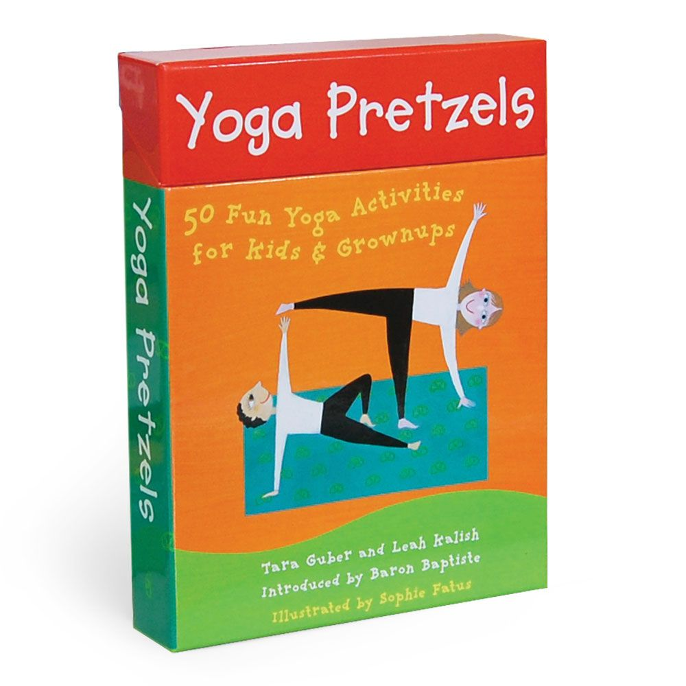 Yoga Pretzels 50 activity cards