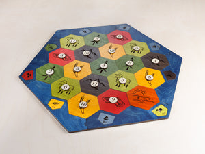 Board For Catan | Essential Plus Edition | 3-4 or 3-6 Player