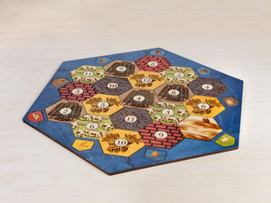Board For Catan | Classic Edition | 3-4 or 3-6 Player