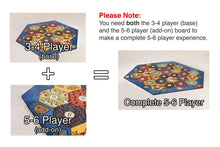 Load image into Gallery viewer, Board for Catan | Birch Edition | 5-6 Player Extension