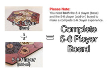 Load image into Gallery viewer, Board for Catan | Hardwood Edition | 5-6 Player Extension