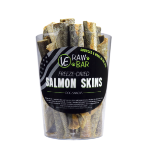 Vital Essentials:  RAW BAR Freeze- Salmon Skin