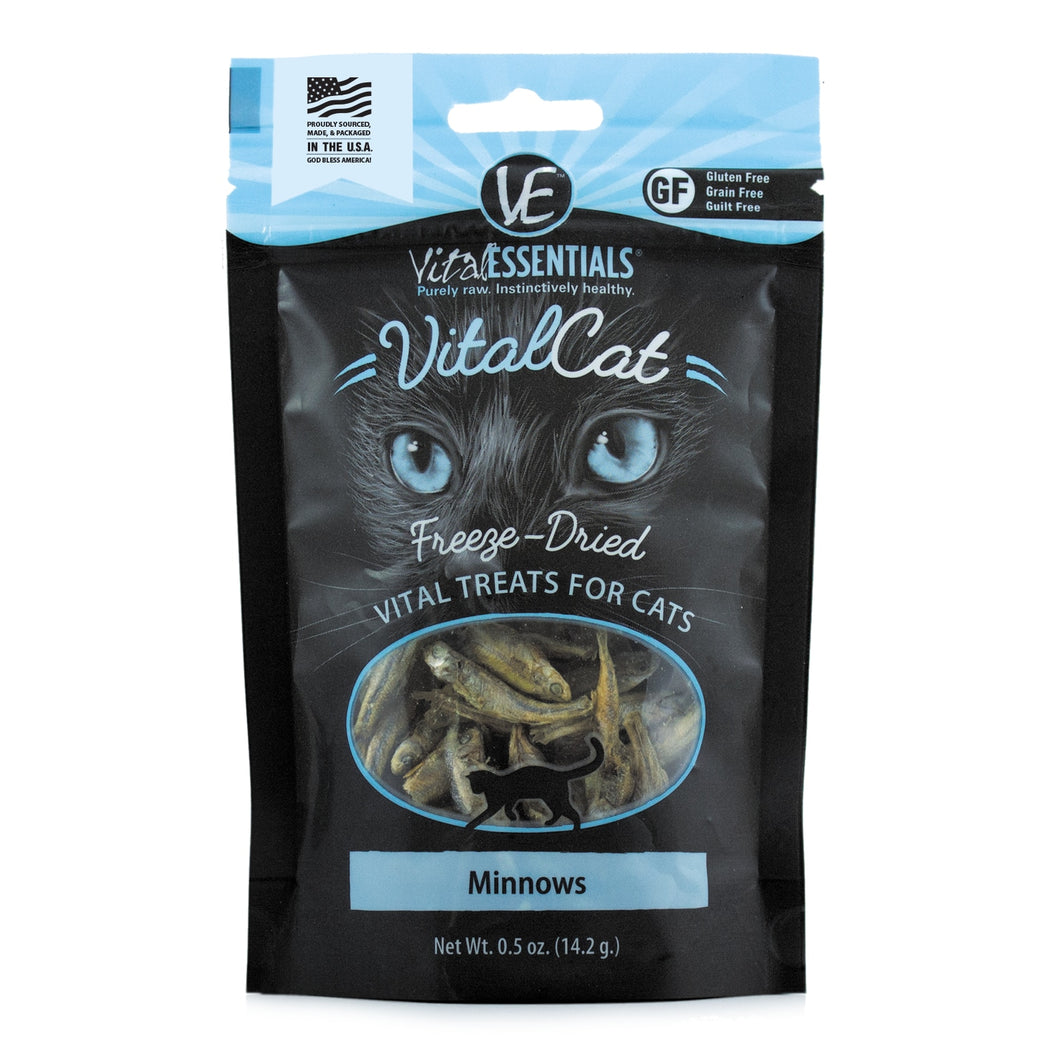 Vital essentials: Vital Cat Freeze-Dried Minnows .5oz