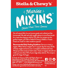 Load image into Gallery viewer, Stella & Chewy's: Marie's Mix-ins Salmon & Pumpkin 5.5oz